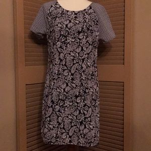 Japna black/white size small dress.